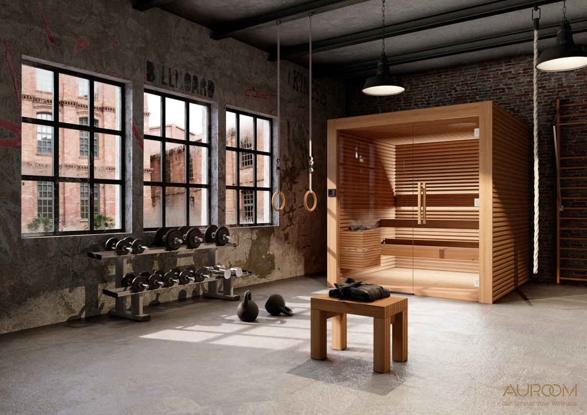Sauna finlandese Auroom